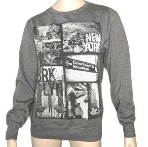 Urban Heritage New York Graphic Sweatshirts X 2